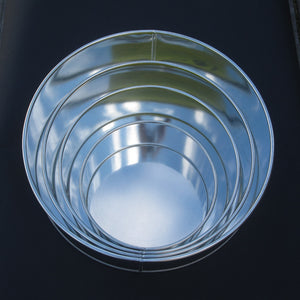 Round 4pce Cake Tin Set (6 - 12 in)