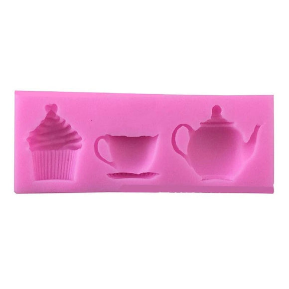 Afternoon Tea Party Silicone Mould