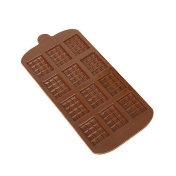 Silicone Chocolate Mould - Mini Chocolate Block / Bar