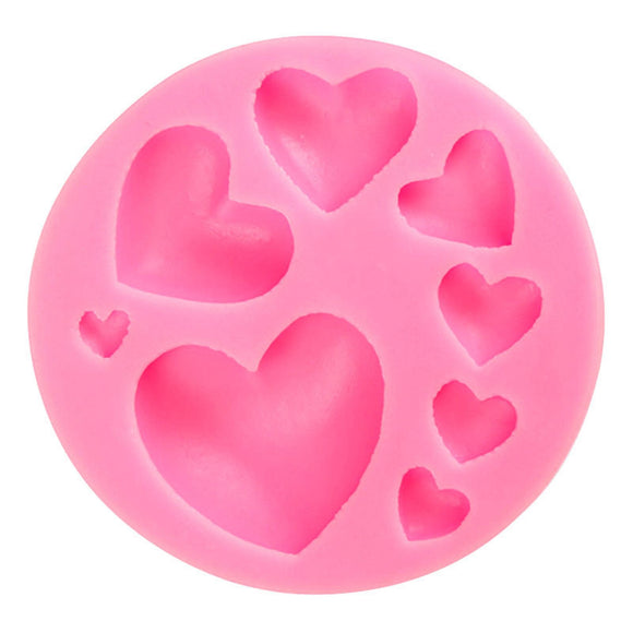 Mini Heart Silicone Mould