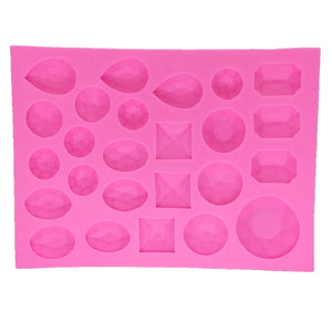 Gem Stone Silicone Mould