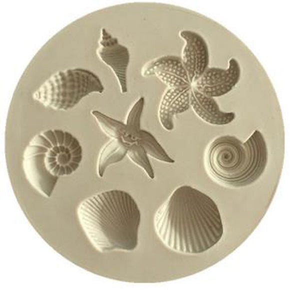 Sea Life Mini Silicone Mould