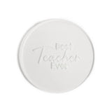 Sugar Crafty BEST TEACHER EVER Pop / Embosser Stamp