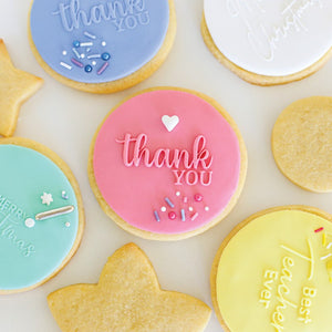Sugar Crafty THANK YOU Pop / Embosser Stamp