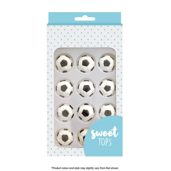 Sweet Tops Soccer Ball Decorations