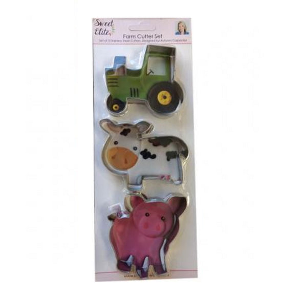 Sweet Elite Farm Cookie Cutter set