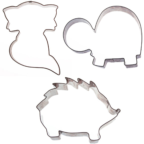Sweet Elite Woodland Cookie Cutter set