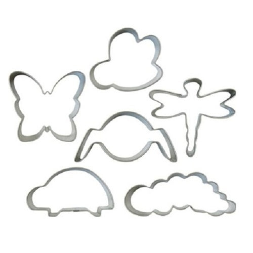 Wilton Bug Buddies Cookie Cutter set of 6