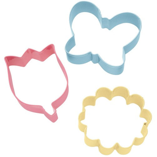Wilton Spring Flower Cookie Cutter set of 3