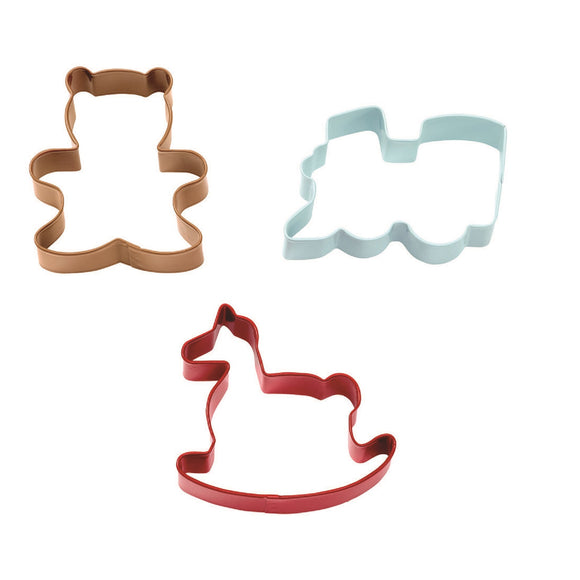 Wilton Homemade Christmas cookie cutter set (3 piece)