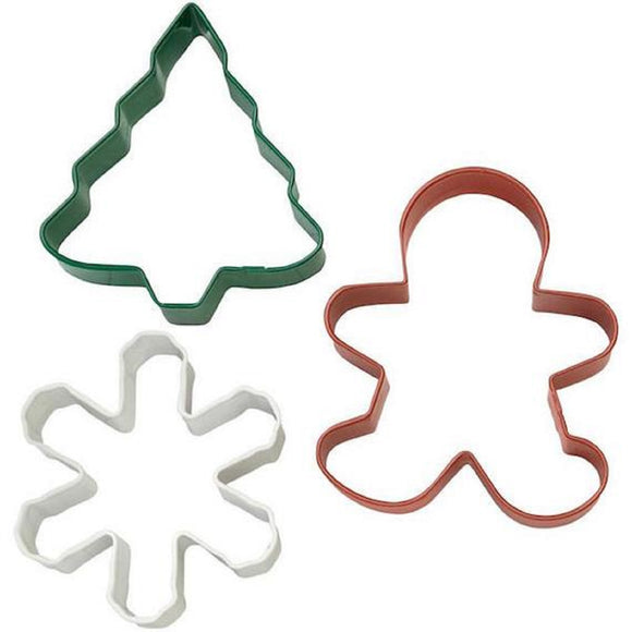 Wilton Traditional Christmas cookie cutter set (3 piece)