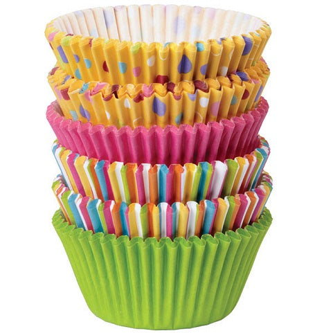 Wilton Sweet Dots & Stripes Cupcake cups (150 pack)