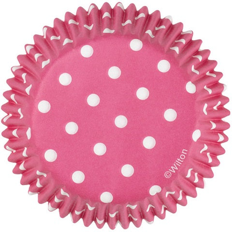 Wilton Red Polka Dot Cupcake Cups (75 pack)