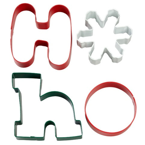 Wilton Ho Ho Cookie Cutter set of 4