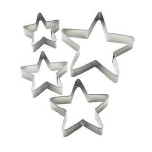 Wilton Nesting Star Cookie cutter 4pce set