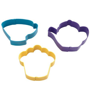 Wilton Tea Party Cookie Cutter 3pce Set