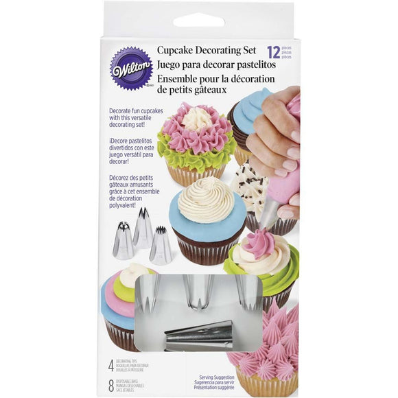 Wilton Cupcake Decorating 12 piece Set