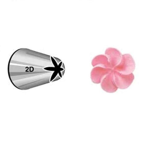 Wilton Drop Flower #2D Tip