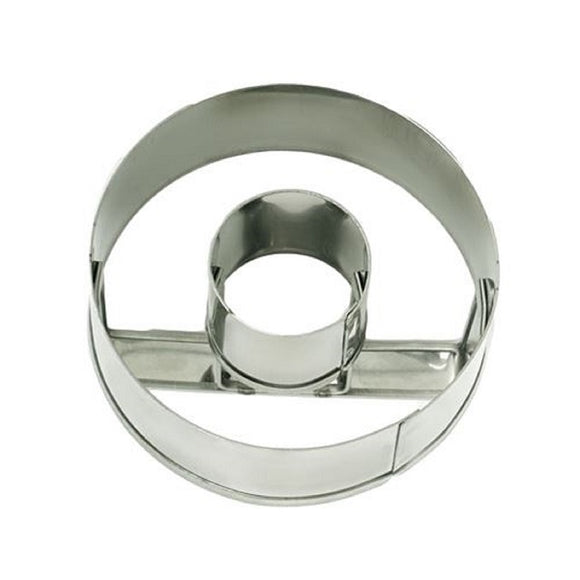 Appetito Stainless Steel Donut / cookie cutter 7.5cm