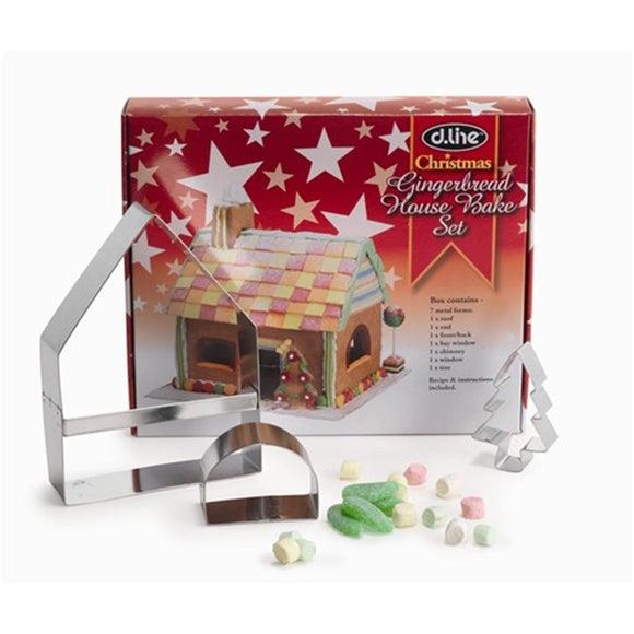 Gingerbread House Cutter Bake set