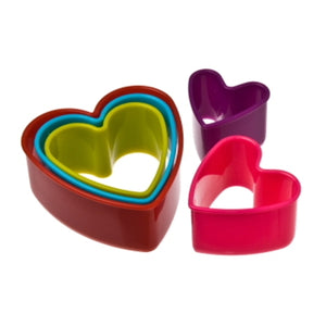 Heart Cookie Cutter set of 5