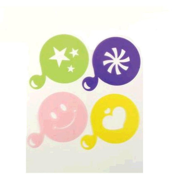 Cupcake or Coffee Stencils (set of 4)