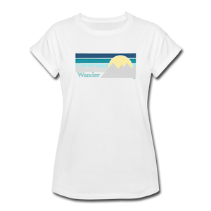 Wander II Women's Relaxed Fit T-Shirt - white