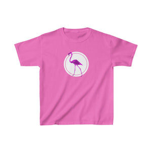 Flamingo - Kids Heavy Cotton™ Tee