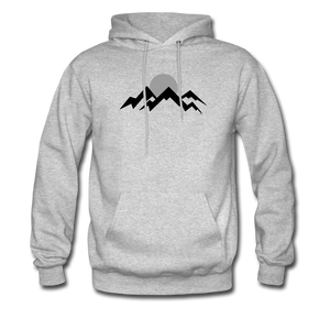 Mountain Men's Hoodie - heather gray