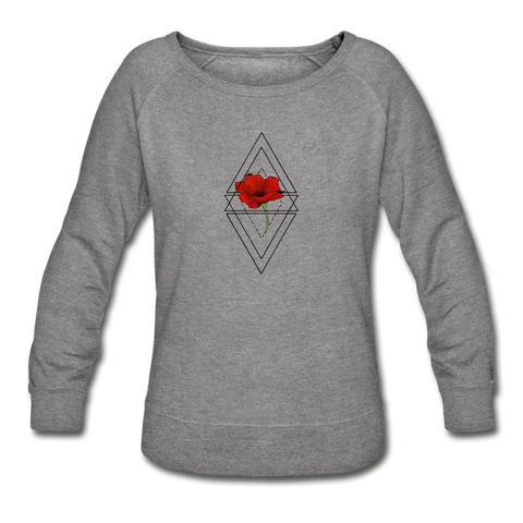 Women's Crewneck Sweatshirt - heather gray