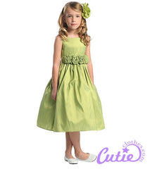 Mint Flower Girl Dress - 03047