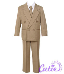 Taupe Boys Suit - M103