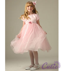 Pink Flower Girl Dress - 5139