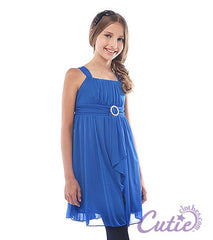 Royal Blue Flower Girl Dress - J-1192