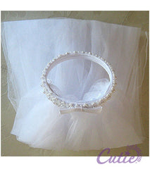 Girls Bun Veil - 003