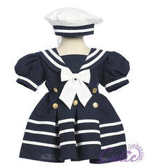 Navy Sailor Dress - 161