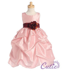 Pink Flower Girl Dress - 0BL131