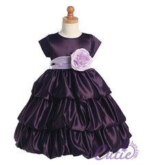 Purple Flower Girl Dress - BL204