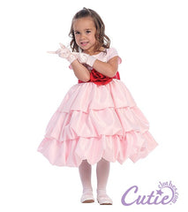 Pink Flower Girl Dress - BL204