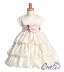 Ivory Flower Girl Dress - BL204