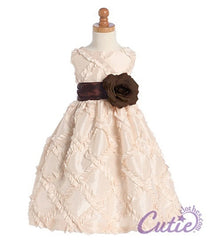 Light Pink Flower Girl Dress - BL208