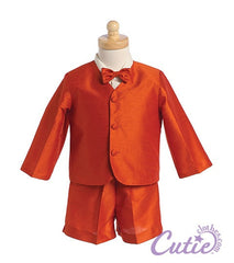 Orange Boys Shorts Set - G818