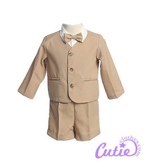 Khaki Boys Shorts Set - 0G816