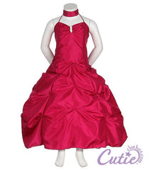 Fuchsia Flower Girl Dress - 1026
