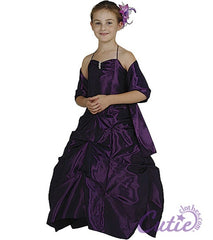 Purple Flower Girl Dress - 1026
