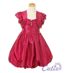 Fuchsia Flower Girl Dress - 0108