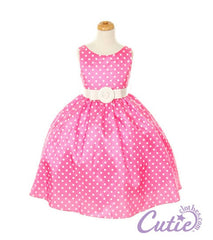 Fuchsia Flower Girl Dress - 1097