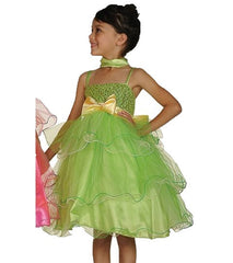 Lime Flower Girl Dress - 1119