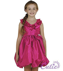 Fuchsia Girls Dress - 112