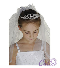 Girls Crown Veil - M1655